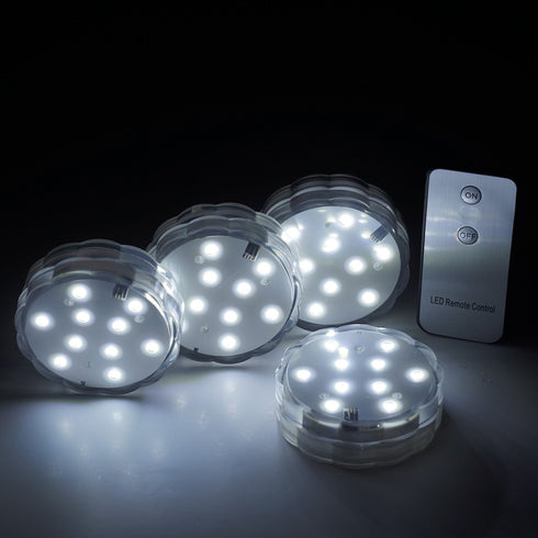 4 x Fairy Nest LED Vase Lights Remote-Controlled White