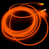15FT Sound Activated Neon LED Tube Rope Light Car Party Decoration - ORANGE