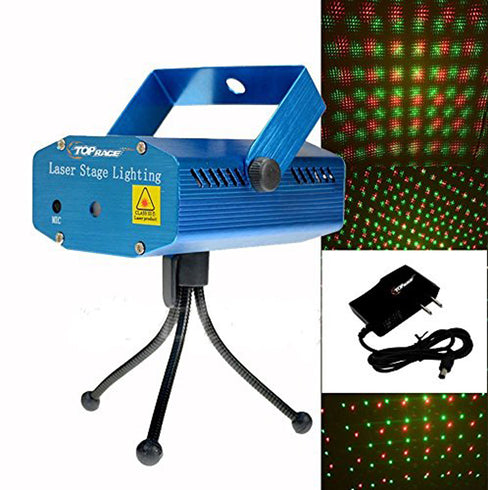 Dazzling Star Pattern Portable Disco Stage Mini Laser Lights with Tripod