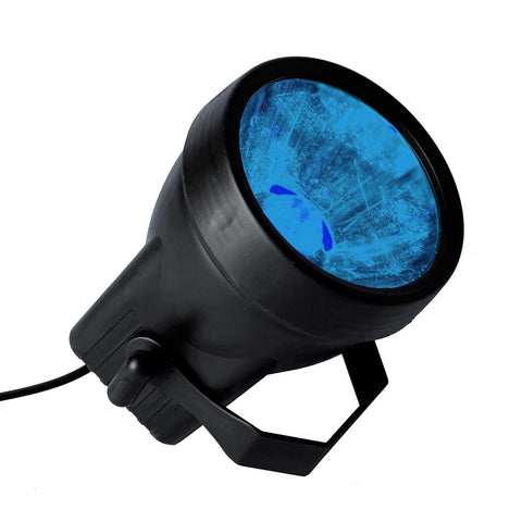 3 Watt BLUE Landscape Backdrop Wedding Reception Party Stage LED Spotlight Up Light - Blue