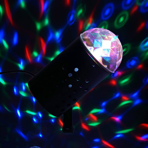 Rotating LED Mini Disco Ball Stage Spot Light