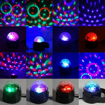 Jazzy Sound Activated LED Dance Party Spotlight