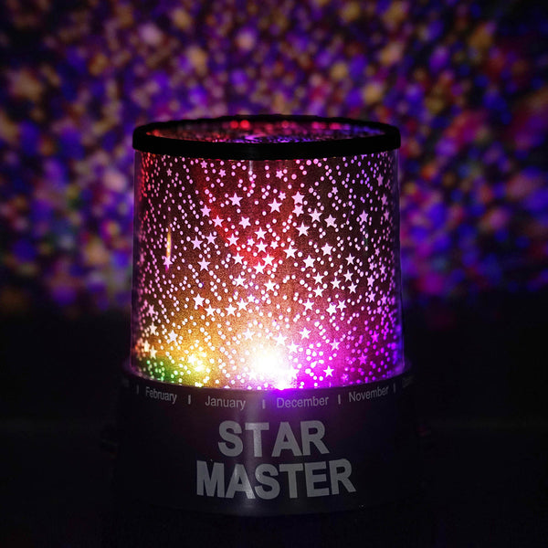 Starry Galaxy Sky Projector Cosmos Romantic Color Changing