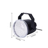 10 Watt White 62 LED Stage Backdrop Bright Strobe Spotlight With Brackets