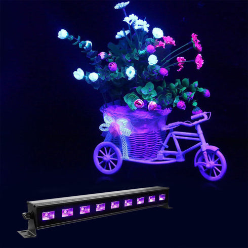 Purple LED Stage Lighting, LED Wall Washer Lights Indoor and Outdoor, LED Stage Light Bar
