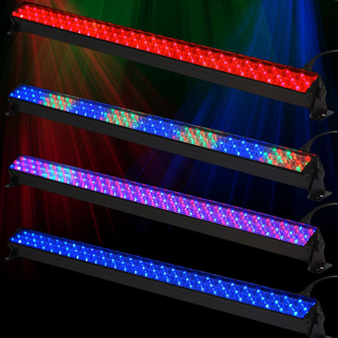 20W Wall Washer Light DMX For Stage Party Show Wedding - 252 LED - Assorted color