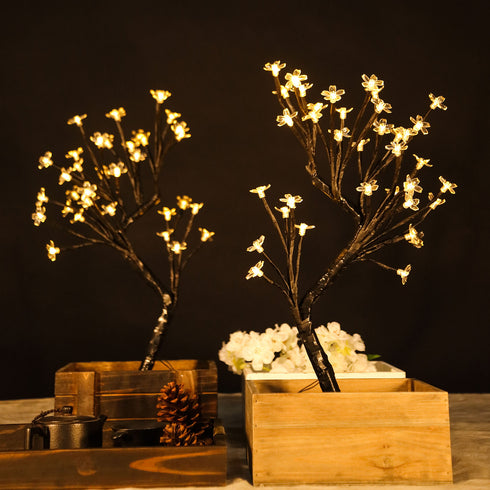 LED Tree Centerpieces, Battery Operated Led Lights