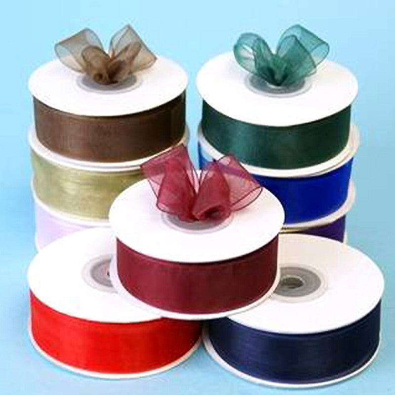 "Organza Ribbon 7/8"" Lot"