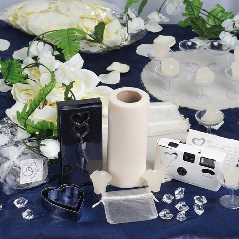 Lot of Wedding Accessories-Ivory