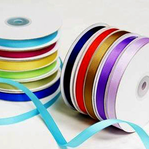 "3/8"" Grosgrain Ribbon Lots - 25 Yard"