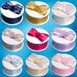 "25 Yard 1.5"" Organza Ribbon Lots With Satin Edges"