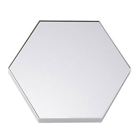 "6 Pack 8"" Hexagon Glass Mirror Wedding Table Centerpiece Decoration"