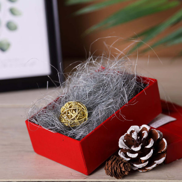 50g Silver Preserved Natural Moss Grass DIY Gift Box Fillers