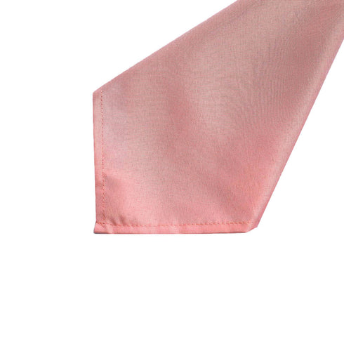 "5 Pack 17""x17"" Dusty Rose Polyester Linen Napkins"
