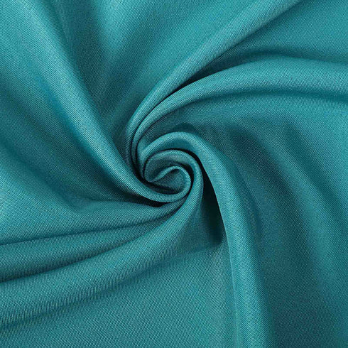 "5 Pack 17""x17"" Teal Polyester Linen Napkins"