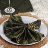 "Pintuck Napkins - 17""x17"" - Moss/Willow - 5pcs"