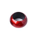 4 Pack Red Acrylic Napkin Rings