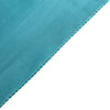 "5 Pack 20""x 20"" Teal Satin Linen Napkins"