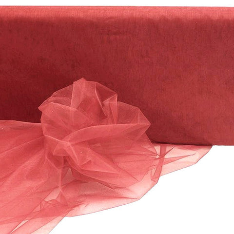 "54""x40yds Crystal Organza Fabric - Rose Quartz"