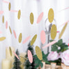 Circle Dot Party Paper Garland, Streamer Backdrop, Hanging Decorations