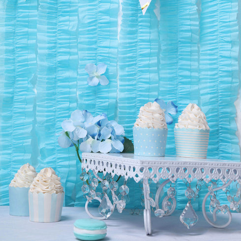 Paper Streamers, Tissue Paper Garland, Hanging Decorations