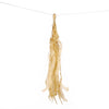 12 PCS Champagne Tissue Paper Balloon Tassel Garlands