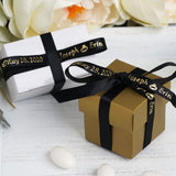 "3/8"" Personalized Ribbon - 100pcs"