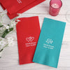 Personalized Wedding Napkins, Dinner Napkins, Wedding Favors