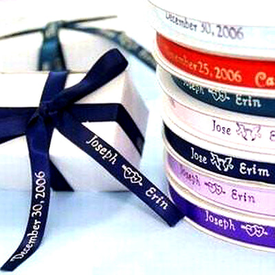 "100Pcs 3/8"" Personalized Ribbon"