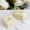 "100 Pcs Personalized Wedding Favors, Party Favor Boxes - 2.5"" x 1.5"""