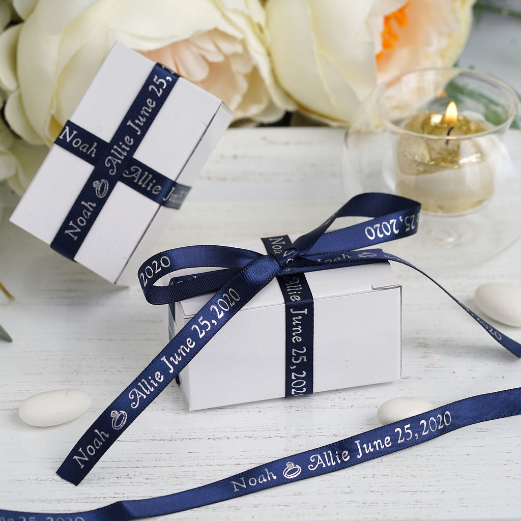 "3/8"" Continuous Personalized Ribbon 25yds"