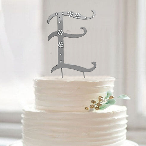 Personalized Wedding Favors, Letter Cake Toppersf 3