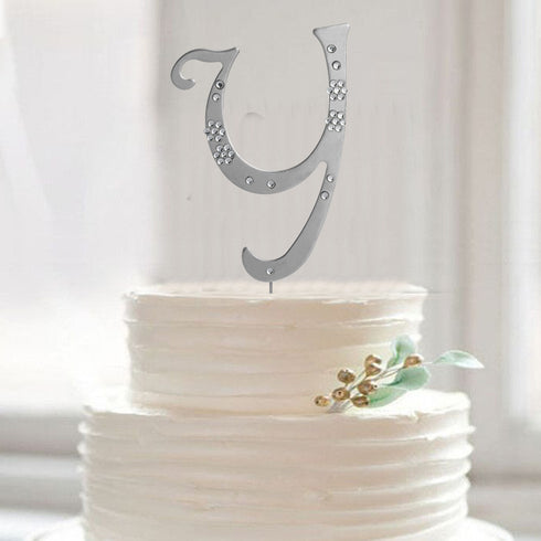 Personalized Wedding Favors, Letter Cake Toppers