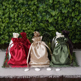 "100 Pack 3x4"" Personalized Satin Drawstring Pouch"