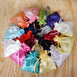 "6x9"" Satin Drawstring Bags, Personalized Wedding Favors"