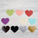 100 Pack Heart Personalized Favor Gift Tags - Customize