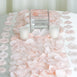 500 Silk Rose Petals For Table Confetti Decoration - Rose Gold | Blush