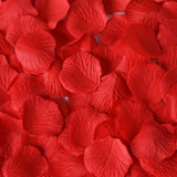 500 Red Silk Rose Petals For Table Confetti