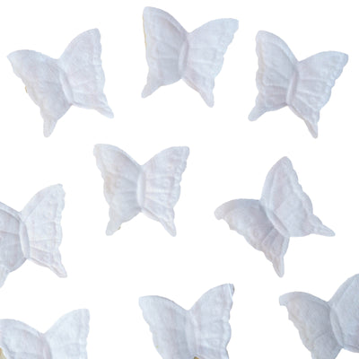 500 Pack White Silk Butterfly Petal Confetti Table Aisle Decoration