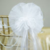 "24"" Satin Edged Organza Ribbon Pew Bows"