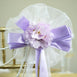 "24"" Satin Ribbon Hydrangea Flower Pew Bows"