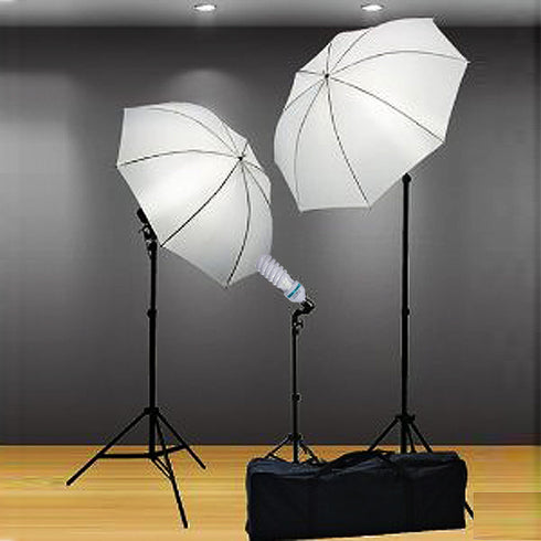 105 Watt Fluorescent Full Spectrum 5500K Daylight Balanced Light Bulb For Photography Video Home Lighting - Buy One Get One Free