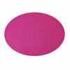 6 Pack Glitter Placemat Non Slip Table Placemats, Oval Faux Leather Placemats With Glitter - Fushia#whtbkgd