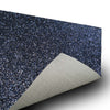 "6 Pack Placemats, Navy Blue Dining Table Mats, Rectangle Faux Leather Glitter Placemat - 12""x16"""
