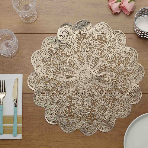 Floral Placemat, Vinyl Placemat, Dining Table Placemat
