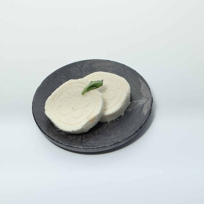 "2 Pack 5"" Round Black High End Display Dessert Plate"