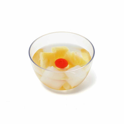 12 Pack Clear 4oz Plastic Petite Round Disposable Bowl