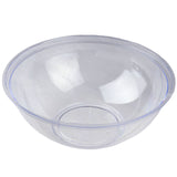 4 Pack Clear 4qt Chambury Plastic Round Disposable Serving Bowl