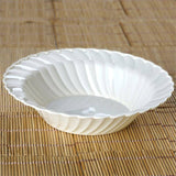 12 Pack - Ivory Flaired Round 16oz Disposable Bowl - Partytown Plastics