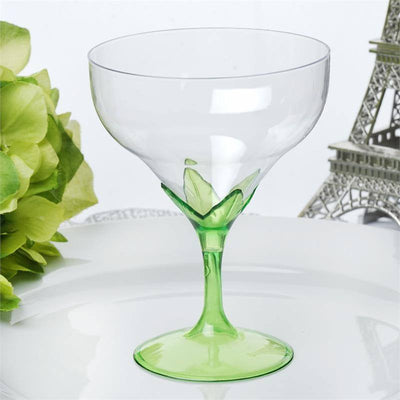 6 Champagne Goblet-Green